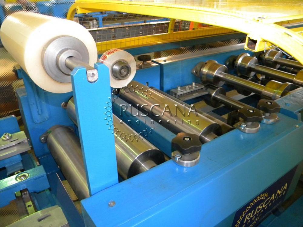 Window drip cap roll forming machine